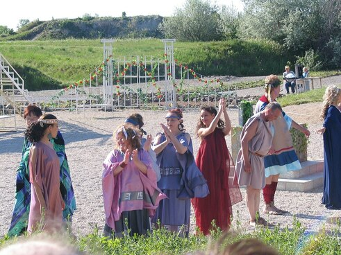 Floriana Roman festival recreation