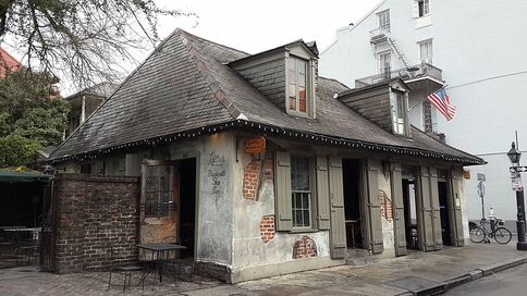 Lafitte's Blacksmith Shop, Bourbon Street, French Quarter, New Orleans, USA
