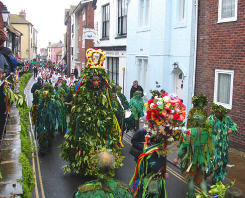Jack-in-the-Green Festival, Hastings - Janet Richardson / May Day Hastings East Sussex