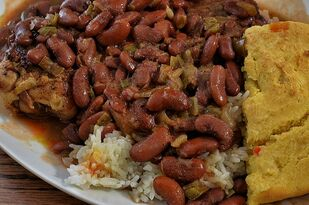 Red_beans_and_rice by Herb Roe [CC BY-SA 3.0 (https://creativecommons.org/licenses/by-sa/3.0)]