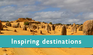 Inspiring Destinations - photo Nambung National Park, Western Australia