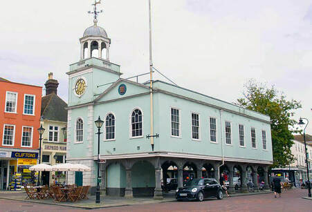 Faversham market hall