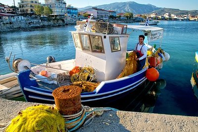 Fishing boat, Greece
