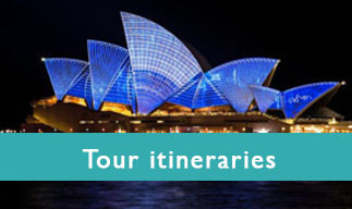 Tour Itineraries - photo Sydney Opera House